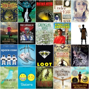 Book club books 2016-2017