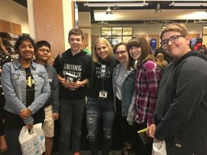 WMS Students at SE-YA Book Fest